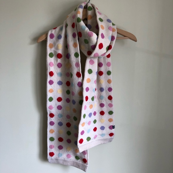 3/$30💚GAP polka dot wool scarf